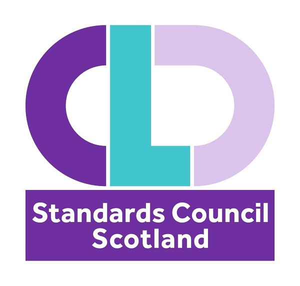 logo text CLD Standards Council Scotland