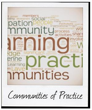 Communities of practice polaroid